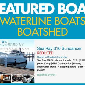 Waterline Boats / Featured Boat – Sea Ray 310