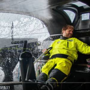 VIDEO: Alex On Top in Debut Route du Rhum