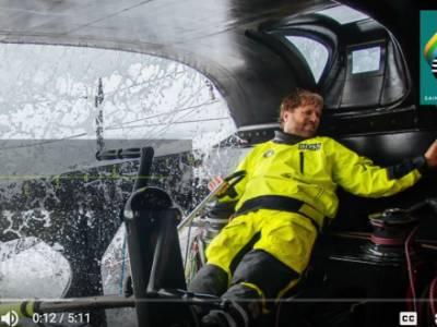 VIDEO: Alex On Top in Debut Route du Rhum