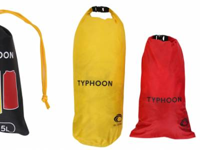 Typhoon introduces a new dry bag trio