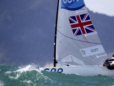 Great Scott returns as British sailors descend on Tokyo 2020 venue