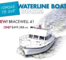 NEW Bracewell 41 Coming to Our Waterline Boats Docks!