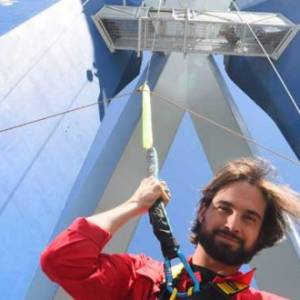 Emirates Spinnaker Tower launch 'The Drop' with Love Island's Jamie Jewitt