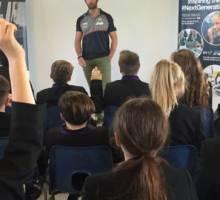 Sir Ben Ainslie inspires Portsmouth school pupils to dream big