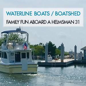 Family Fun Aboard A Helmsman Trawlers 31 Sedan