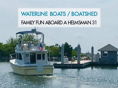 Family Fun Aboard A Helmsman Trawlers 31 Sedan