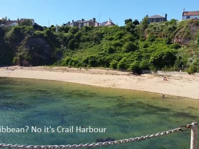 Circumnavigating the UK in a Leisure 27, Part 7 - Amble to Anstruther