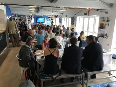 Inaugural Global Business Breakfast Club at Brighton Marina Yacht Club