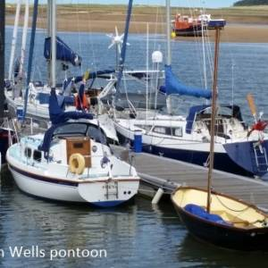 Circumnavigating the UK in a Leisure 27, Part 4 - Wells - Weather Bound!