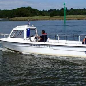 NEW WATER TAXI SERVICE BOOSTS BEAULIEU RIVER ACCESS
