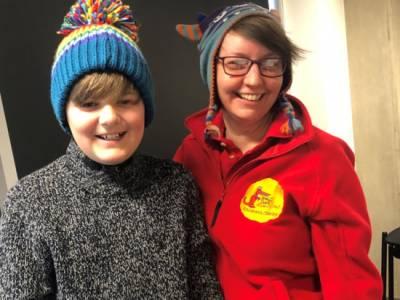 Dorsetsailor, 15, joins forces with creative legends