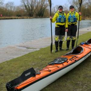 Kayakers' 4,000km Continent-Crossing Expedition