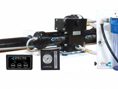 Spectra Watermakers announces remote manual controlled watermakers