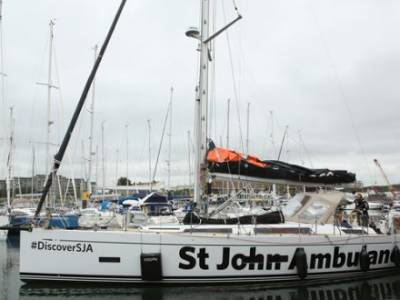 Adventurer Sets Sail From Plymouth on Solo Voyage to New York