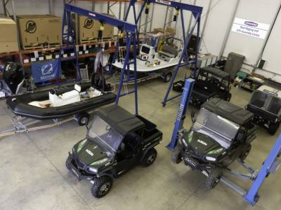 New boat rigging and assembly centre for Barrus