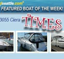 Featured Boat of the Week - Bayliner 3055 Ciera!