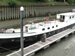 Boat of the Week: stunning Dutch barge in London