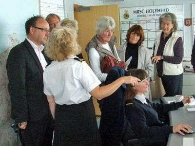 Boatshed North Wales visit Holyhead Coastguard Station
