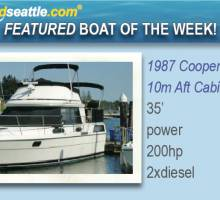 Featured Boat of the Week - Cooper Prowler 10m 35' Aft Cabin!