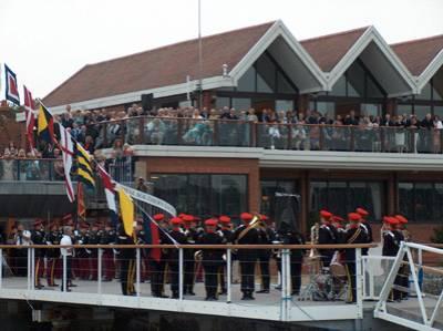The King's Royal Hussars & the Royal Southern Yacht Club