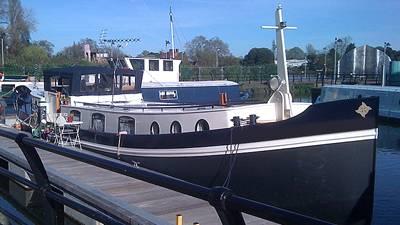 Featured Boat: A Terrific 18m Luxemotor Euroship Dutch Barge