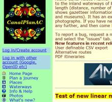 Six Useful Canal Websites