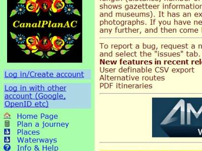 Six Useful Canal Websites