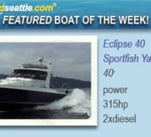 Featured Boat of the Week - Eclipse 40 Sportfish Yacht!