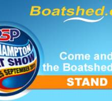 Boatshed.com at the PSP Southampton boat show 2011