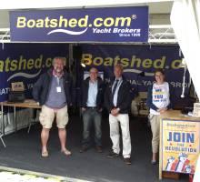 Royal Visit to PSP Southampton Boatshow