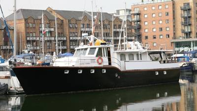 Gentleman's Motor Yacht – they don't make them like this any more!