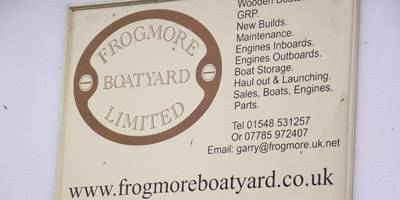 New! Undercover Storage Facility at Frogmore Boatyard