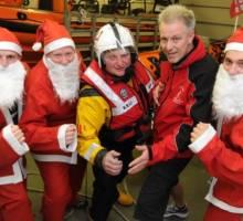 Santas to Run for RNLI at Southsea
