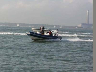 Rib Raid raises £1000 for Hamble Lifeboat