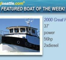 Featured Boat of the Week - Great Harbour GH37!