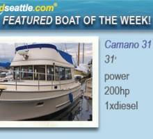 Featured boat of the Week - Camano 31!
