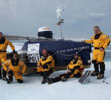 CHRISTCHURCH 'ICE BOAT' MAKES ARTIC HISTORY