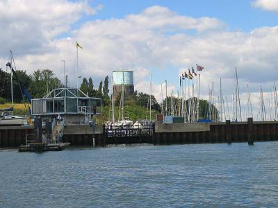 Shotley Marina Annual Lock Maintenance