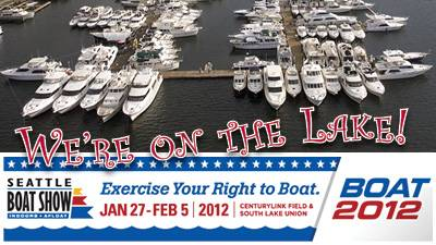 Waterline Boats / Boatshed Seattle - At The Seattle Boat Show!
