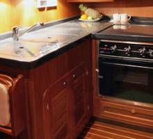Luxury galley options, spoilt for choice