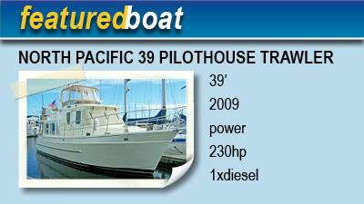 2009 North Pacific 39 Pilothouse Trawler