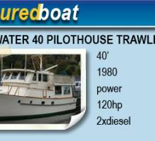 1980 Bluewater 40 Pilothouse Trawler
