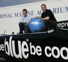 be BLUE be cool say's Conrad Humphreys