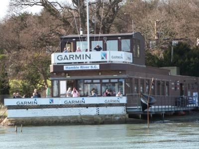 50th Anniversary Hamble Warming Pan at Hamble River Sailing Club