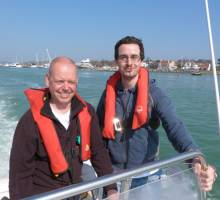 Boatshed Hamble.Com & Wave 105 FM