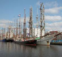 The Dutch Tall Ship Fleet in Ipswich