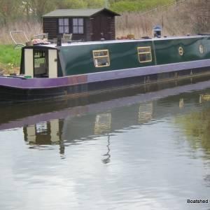 Lovely liveaboard narrowboat