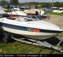 Fletcher Arrowsport 16 as a First Boat