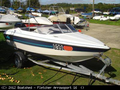 Fletcher Arrowsport 16 as a First Boat