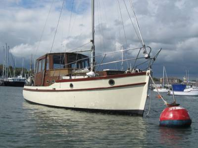 Classic boat for sale - A piece of history for sale.